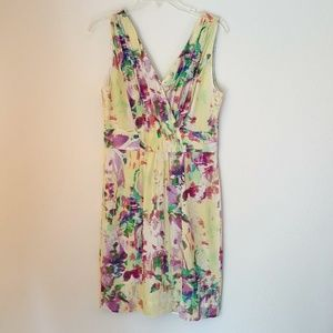 Banana Republic silk women dress, size 6, O165